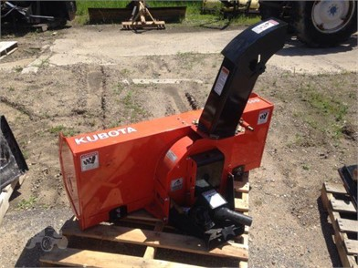 KUBOTA Snow Blower Attachments For Sale - 47 Listings | TractorHouse