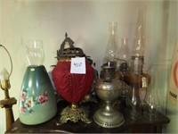 Antique Lamps & Parts