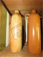 Antique Stoneware Bottles