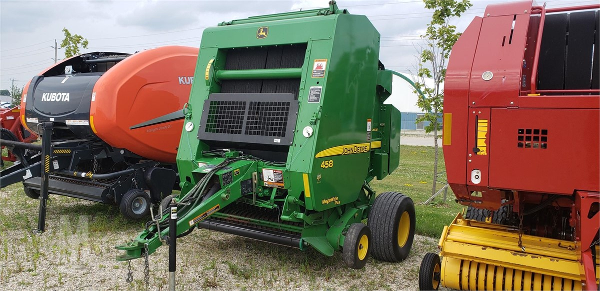 2010 JOHN DEERE 458 For Sale In Mount Forest, Ontario Canada
