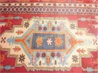 Vintage Afghani Wool Kilim