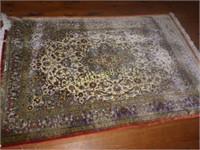 Persian Silk Carpet