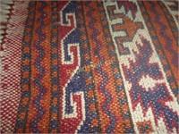 Afghani Wool & Cotton Kilim