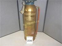 Brass Fire Extinguisher