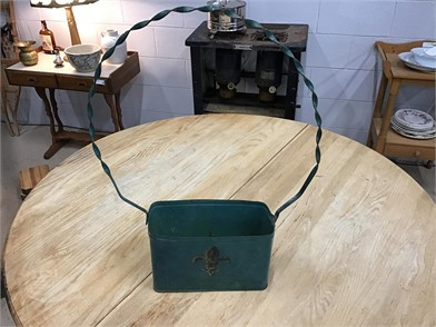 ANTIQUE METAL PLANTER Other Items For Sale - 1 Listings ...