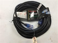 Brand New HD 40' Extension Cord W/Lighted Ends