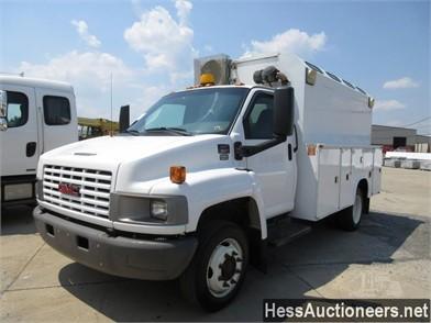 GMC TOPKICK C5500 Service Trucks / Utility Trucks / Mechanic Trucks