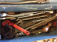 Tool Box With Assortment of Tools