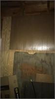 Pine wood boards, paneling