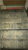 Motors, wooden crates, contents of boards