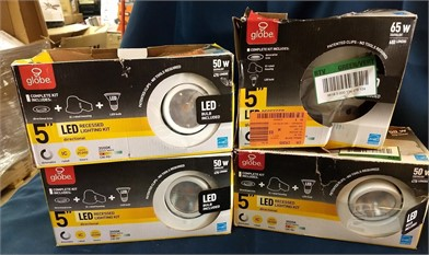 GLOBE 5INCH RECESSED LIGHTING Other Items For Sale - 1