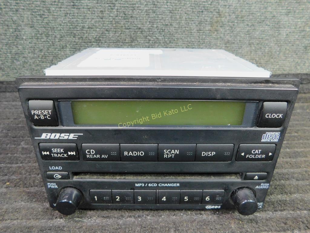 Bose Car Stereo >> Bose Car Stereo Bid Kato