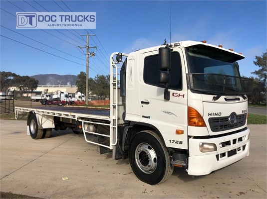 2012 Hino 500 Series 1728 GH X Long DOC Trucks - Trucks for Sale