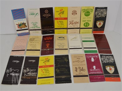 20 New York Matchbook Covers Other Items For Sale 1