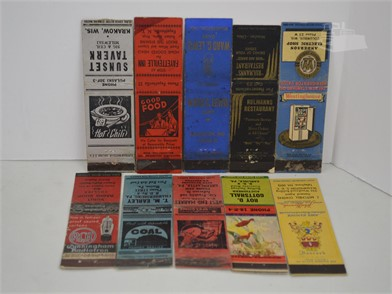 10] VINTAGE LOW PHONE NUMBER MATCH COVERS Other Items For