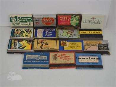15] VINTAGE 40 STRIKE MATCHBOOKS Other Items For Sale - 1