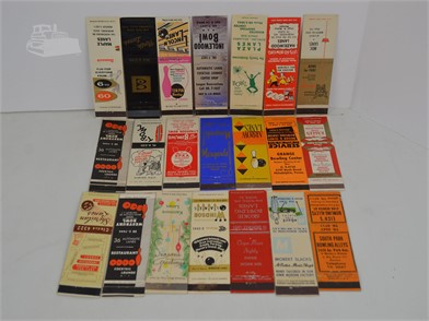 21] VINTAGE BOWLING MATCHBOOK COVERS Other Items For Sale