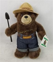 Plush Smokey The Bear Only You Can Prevent Fires