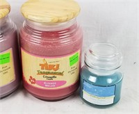 Lot Of New Candles Tiki Fragranced & More