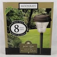 New Moonrays Solar Garden Lights 4 Pack