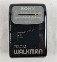 Vintage Fm/am Sony Walkman Radio W/ Package