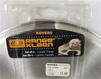 Lot Of Kovers Range Klean Stainless Burner Covers