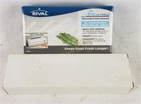 New Rival Seal A Meal Vacuum Food Sealer Bags