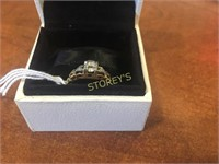 14 & 18kt Gold Ring