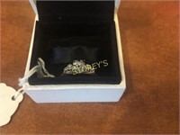 14kt Yellow & White Gold Ring - .05ct Centre