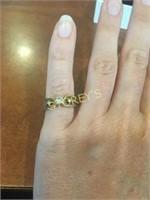 14kt Yellow & White Gold Custom Engagement Ring
