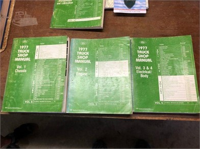 1977 TRUCK SHOP MANUALS Other Items For Sale - 1 Listings