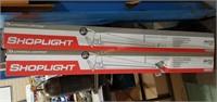 Pair Of New Lithonia Lighting Shoplights 1233