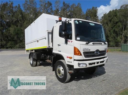 2013 Hino 500 Series 1322 GT 4x4 Midcoast Trucks - Trucks for Sale