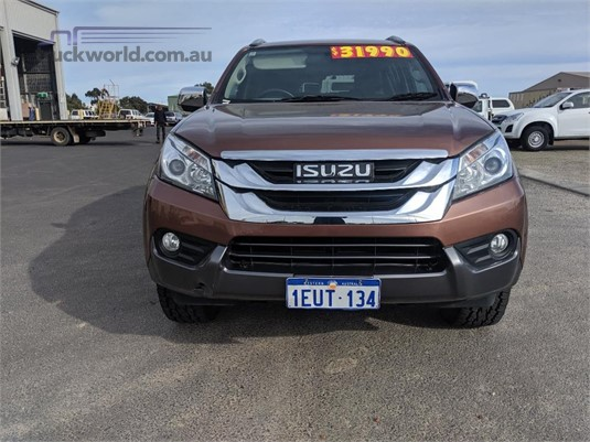 2015 Isuzu UTE MU-X LS-T - Truckworld.com.au - Light Commercial for Sale