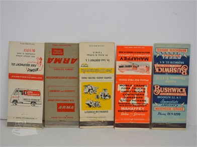 15] PRODUCT AND SERVICES MATCHBOOK COVERS Other Items For