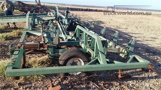 0 John Shearer Trash Worker 40 Hydraulic Tyne Black Truck Sales - Farm Machinery for Sale