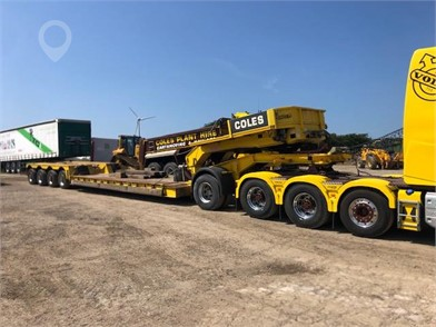 Used NOOTEBOOM Semi-Trailers for sale in the United Kingdom