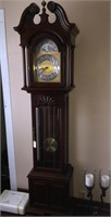 Grandfather Clock - Very Nice Clean Grandfather
