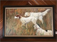Fred Eilers 1978 Dog Painting