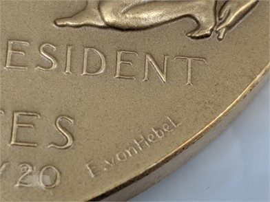 1957 Eisenhower 2nd Inauguration Bronze Medal Other Items