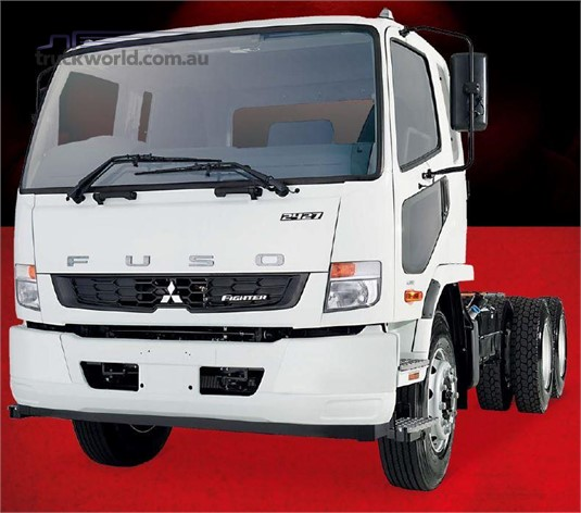 Fuso Fighter FN 6x4 2427 Steel Susp. XLWB 6 Sp. Auto