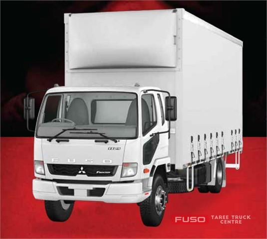 Fuso Fighter 4x2 1024 Built Ready 10 Pallet Curtainsider Trans. Park Brake LWB 6 Sp. Manual