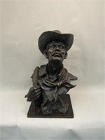 Cowboy Bust-