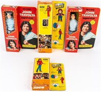 Lot of 4 TV Personality Dolls in Original Boxes