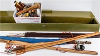 Vintage South Bend Fly Fishing Poles +