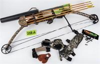 Genesis Compound Bow w/ TruGlo Sight