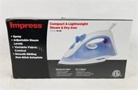 New Impress Compact , Lightweight Steam & Dry Iron