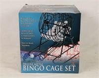 Appears New Bingo Cage Set