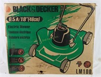 New Black & Decker Lm100 Electric Mower