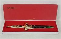 Like New Decorative Ladies Knife In Box